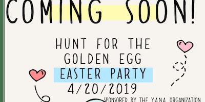 Hunt for the Golden Egg EasterParty