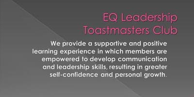 EQ Toastmasters Meeting, 4 Ways to Become Successful