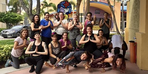 Free Community YOGA in Kendall