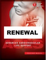AHA ACLS Renewal December 13, 2019 (INCLUDES Provider Manual and FREE BLS!) from 9 AM to 3 PM at Saving American Hearts, Inc. 6165 Lehman Drive Suite 202 Colorado Springs, Colorado 80918.