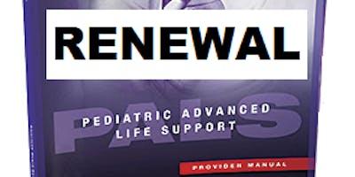 AHA PALS Pediatric Advanced Life Support Renewal January 28, 2019 at Saving American Hearts Colorado Springs, CO