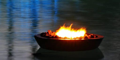 Floating Fire Pit with SMORES - A Paddling Experience to Remember