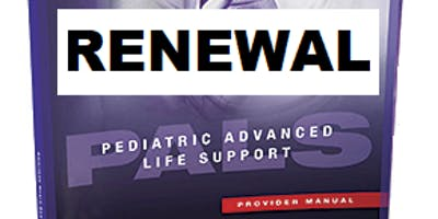 AHA PALS Renewal September 21, 2019 (INCLUDES Provider Manual and FREE BLS) from 9 AM to 3 PM at Saving American Hearts, Inc. 6165 Lehman Drive Suite 202 Colorado Springs, Colorado 80918.