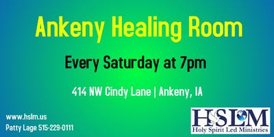 Ankeny, IA Healing Room New Man Series