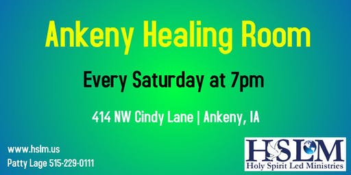 Ankeny, IA Healing Room New Man Series