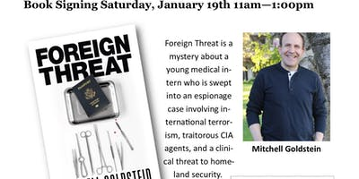 Foreign Threat by Mitchell Goldstein Barnes and Noble Booksigning