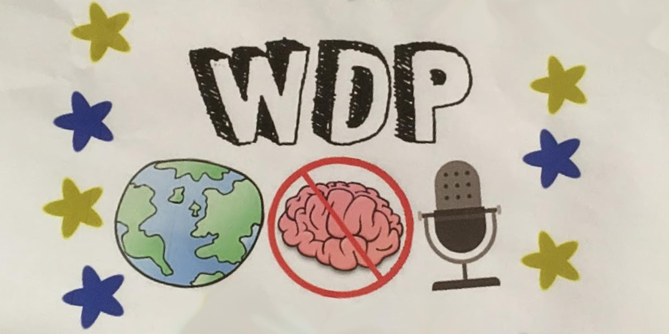 World's Dumbest Podcast feat  Brain's Song & Robot Love (February 1, 2019  at 7:00PM)