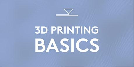 3D Printing Basics tickets