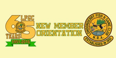 NEW MEMBER ORIENTATION SESSION XII 03/19/2019