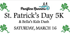 St. Patrick's Day 5K, 7K, Bella's Kids Dash & BBQ