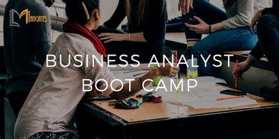 Business Analyst Boot Camp in London Ontario on Apr 15th-18th 2019