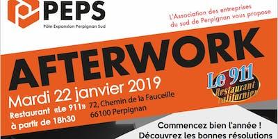 Invitation Afterwork PEPS le 22 janvier 2019