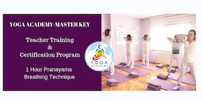 Academy- Pranayama Master Key Teacher Training & Certification Class