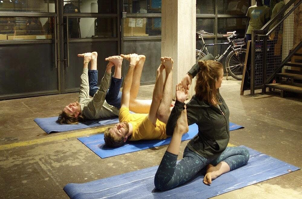 Free Yoga at Patagonia Manchester - Yoga for