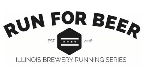 Beer Run - Winter Beer Dash 0.5k between Cruz Blanca Brewery and Haymarket Brewing - Part of the 2019 IL Brewery Running Series