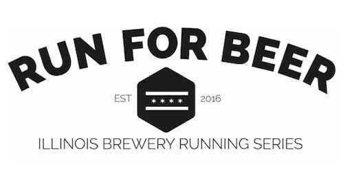 Beer Run - Winter Beer Dash 0.5k between Cruz Blanca Brewery and Haymarket Brewing - Part of the 2019 IL Brewery Running Series