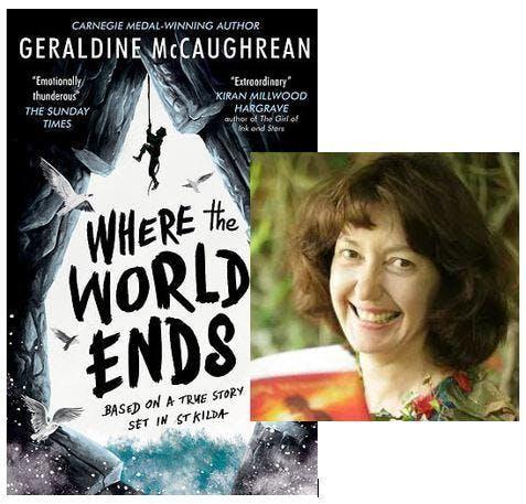 An audience with Geraldine McCaughrean