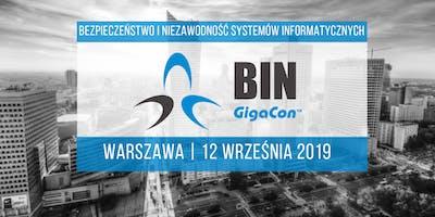 Bezpieczeństwo i Niezawodność Systemów IT, Warszawa 2019
