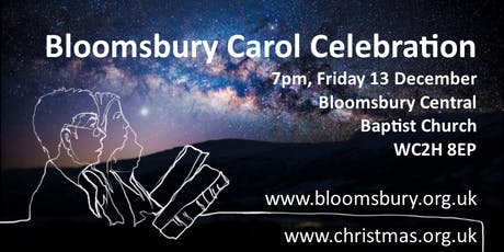 Bloomsbury Carol Celebration 2019 tickets