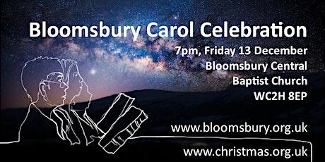 Bloomsbury Carol Celebration 2019 tickets