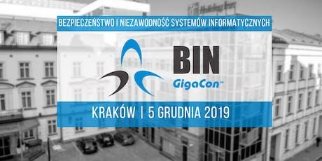 Bezpieczeństwo i Niezawodność Systemów IT, Kraków 2019 tickets