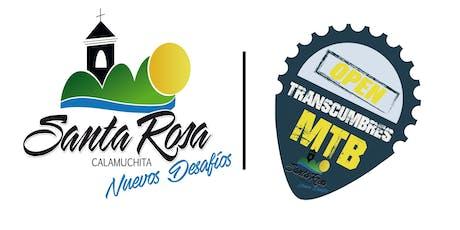 Open TransCumbres MTB Santa Rosa de Calamuchita entradas