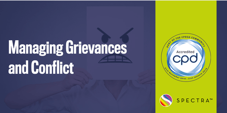 Managing Grievances and Conflict tickets
