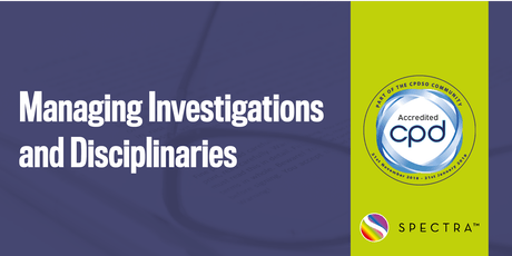 Managing Investigations and Disciplinaries tickets