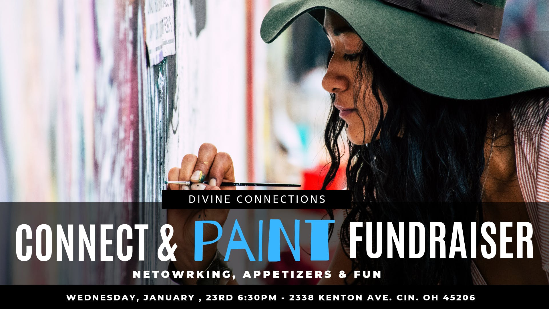Connect & Paint Networking Fundraiser