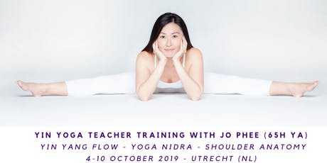 Yin Yoga Teacher Training with Jo Phee (65h yA) Yang flow - Yoga nidra- Anatomy tickets