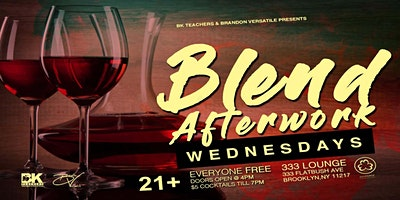 BLEND Afterwork WEDNESDAYS