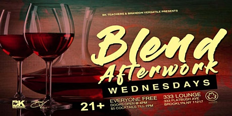 BLEND Afterwork WEDNESDAYS tickets
