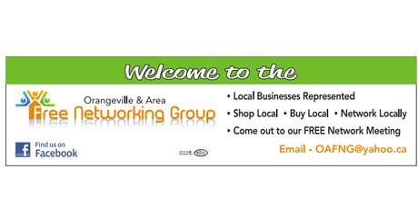 Orangeville and Area Free Networking Group  tickets