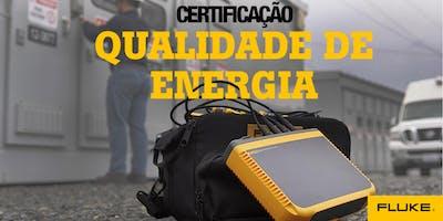 Certificação Fluke de  Qualidade de Energia - Manaus