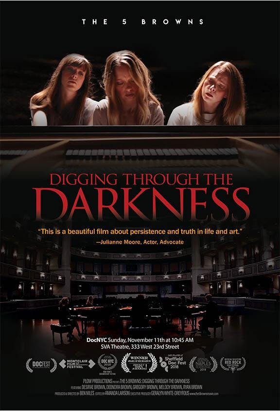 Free Film Screening - THE 5 BROWNS: DIGGING THROUGH THE DARKNESS Documentary
