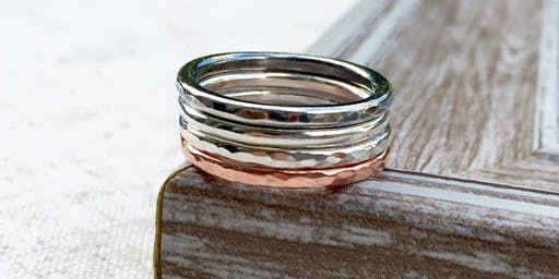 Sterling Silver Stacking Ring Jewellery Making Class