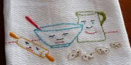 Family Workshop: Create a Hand Painted Dish Towel tickets
