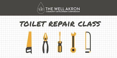 Plumbing Series: Toilet Repair Class