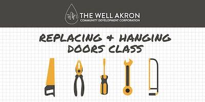 Finish Carpentry Series: Replacing & Hanging Doors Class