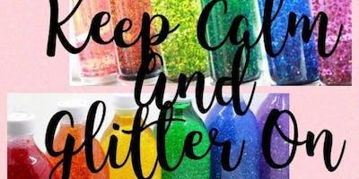Keep Calm and Glitter On Tween/Teen Yoga Workshop