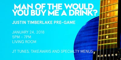 Man of the Would You Buy Me a Drink? | Justin Timberlake Pre-Game