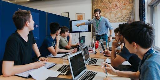 Immerse Digital Design Summer Programme for 13-15 year olds