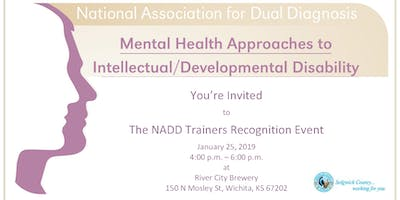 NADD Trainers Recognition Event