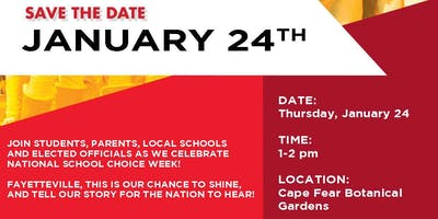 National School Choice Week Celebration in Fayetteville