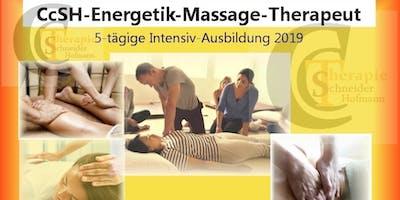 5-tägige Intensivausbildung zum CcSH-Energetik-Massage-Therapeut