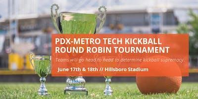 2019 PDX-Metro Tech Kickball Tournament - Team Registration