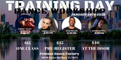 Training Day Dance Workshop