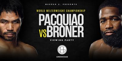 Pacquiao vs Broner Viewing Party