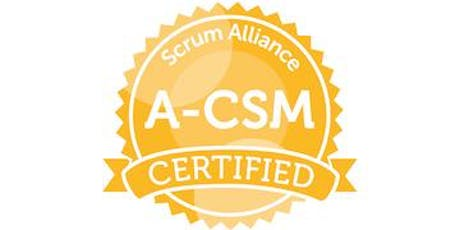 ACSM Advanced Certified ScrumMaster training with Zuzi Sochova, September 25-26, 2019, Prague, Czech Republic tickets