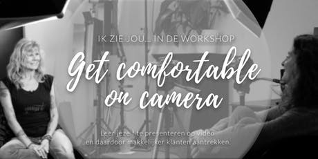Workshop: 'Get comfortable on camera' tickets